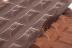 Chocolate bars background Royalty Free Stock Photo