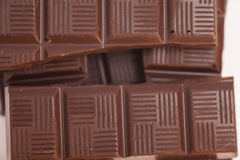 Chocolate bars background Royalty Free Stock Photos