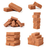 Chocolate bars, collage Stock Photo