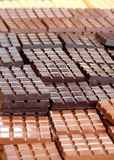 Chocolate bars Stock Photos