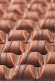 Chocolate bars decorated Royalty Free Stock Photography