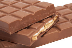 Chocolate bars Royalty Free Stock Photography