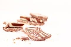 Chocolate bars isolated Royalty Free Stock Image