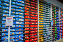 Chocolate bars sale in Nestle factory in Switzerland Royalty Free Stock Photo