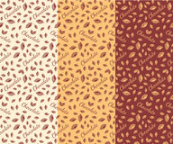 Chocolate bars seamless pattern Royalty Free Stock Photography