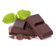 Chocolate bars stack Stock Photography