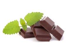 Chocolate bars stack Stock Image