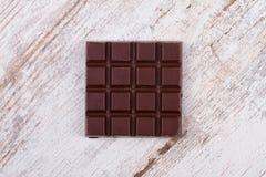 Chocolate bars and strawberries Stock Image