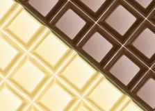 Chocolate bars Stock Image