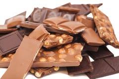 Chocolate bars Stock Photography