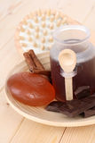 Chocolate bath Royalty Free Stock Images