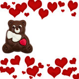 Chocolate Bear Stock Image
