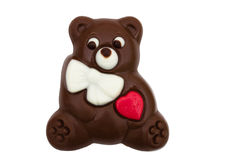 Chocolate Bear Royalty Free Stock Photography