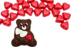 Chocolate Bear Royalty Free Stock Images
