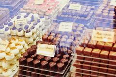 Chocolate belga tradicional imagem de stock royalty free