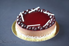 Chocolate Berry Mousse Cake Royalty Free Stock Images