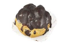 Chocolate bigne pastry Royalty Free Stock Image