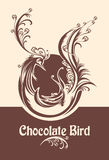 Chocolate bird. Stock Image