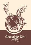 Chocolate bird. Stock Image