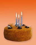 Chocolate Birthday Cake. stock images