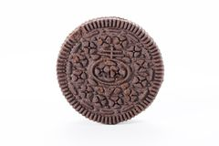 Chocolate biscuit Royalty Free Stock Photo