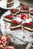 Chocolate Biscuit Cake Royalty Free Stock Photo