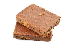 Chocolate biscuit Royalty Free Stock Photography