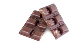 Chocolate with biscuit Royalty Free Stock Image