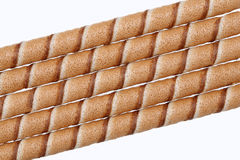 Chocolate biscuit stick straw Royalty Free Stock Images