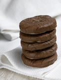 Chocolate Biscuit Stock Image