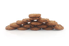 Chocolate biscuit Stock Images