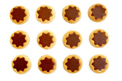 Chocolate biscuits Royalty Free Stock Photos