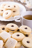 Chocolate biscuits. Royalty Free Stock Photography