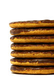 Chocolate biscuits D Royalty Free Stock Photo
