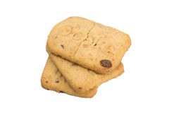 Chocolate biscuits Stock Photography