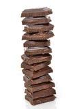 Chocolate Bits Stock Image