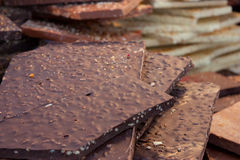 Chocolate black craftsman Royalty Free Stock Photography