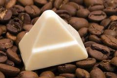Chocolate blanco Fotos de archivo