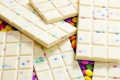 Chocolate blanco Imagen de archivo