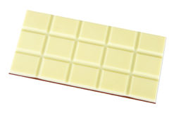 Chocolate blanco y marrón Fotos de archivo