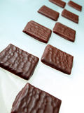 Chocolate Blocks Royalty Free Stock Photos