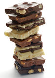 Chocolate Blocks Royalty Free Stock Photo
