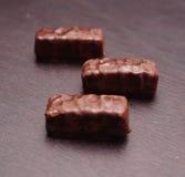 Chocolate blocks Stock Photo