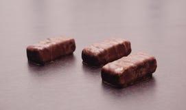Chocolate blocks Royalty Free Stock Photos