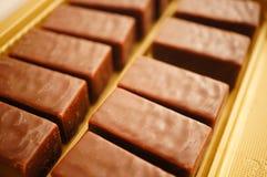 Chocolate blocks Royalty Free Stock Photography