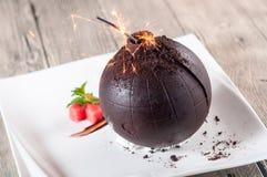 Chocolate bomb Stock Photos