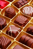 Chocolate bon bons Royalty Free Stock Image