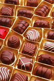 Chocolate bon bons Royalty Free Stock Photos