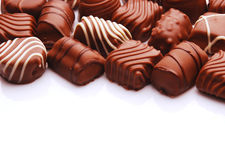 Chocolate bon bons Stock Image