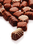 Chocolate bon bons Royalty Free Stock Photography